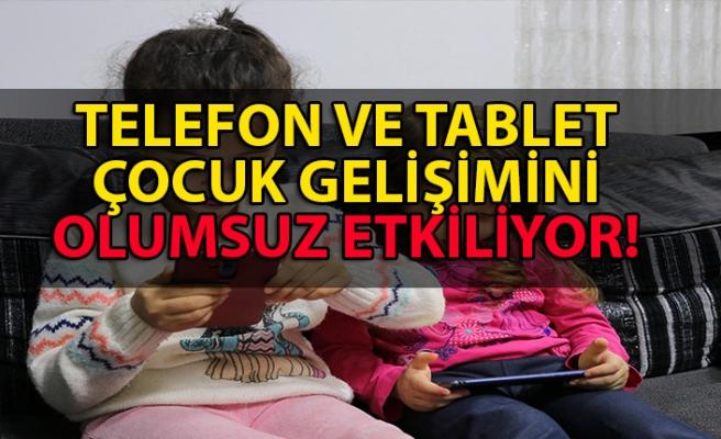 Çocukların telefon ve tabletle oynaması onları zeki yapmıyor