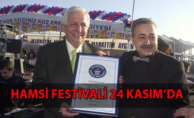 Hamsi Festivali Kasım'da...