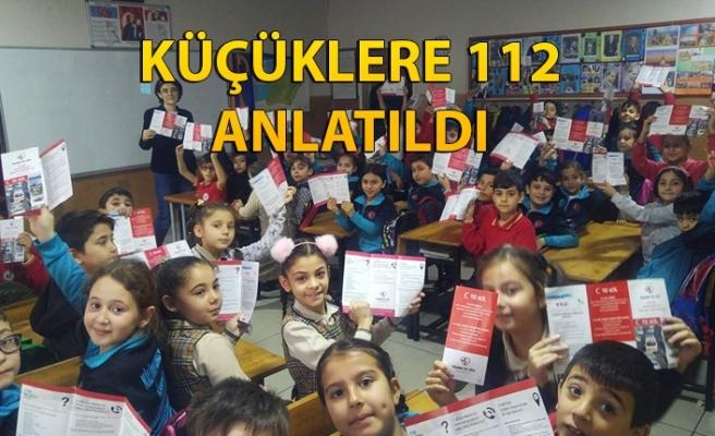 Küçüklere 112 anlatıldı