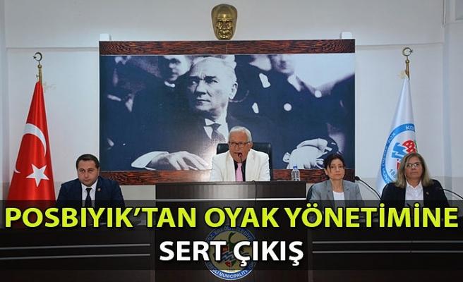 Posbıyık, Mecliste Oyak Yönetimine Sert Çıktı...