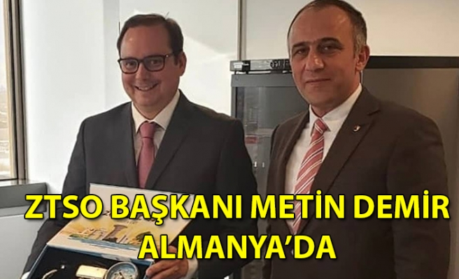 ZTSO Başkanı Metin Demir'den Almanya Zonguldaklılar Derneği'ne ziyaret