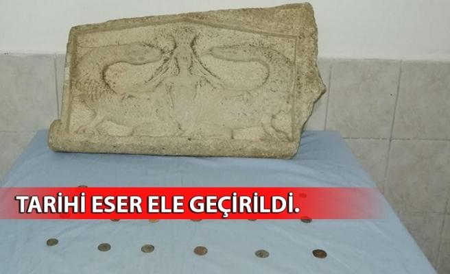 Bizans dönemine ait 30 parça tarihi eser ele geçirildi