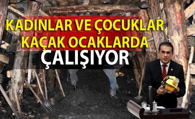 Demirtaş 'Kadınlar ve çocuklar kaçak ocaklarda çalışıyor'