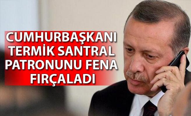 Erdoğan'dan iş adamına telefonda sert tepki: Hiçbir şey yapmamışsın!