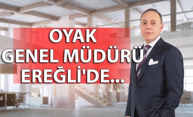 OYAK Genel Müdürü Ereğli'de...