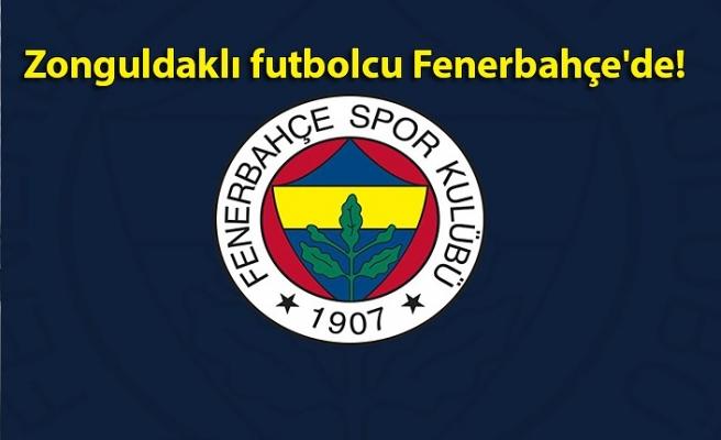 Son dakika! Zonguldaklı futbolcu Fenerbahçe'de