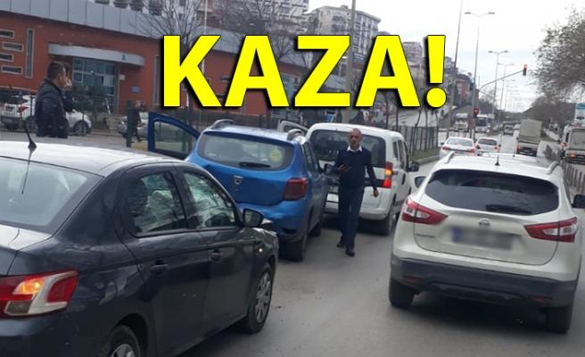 TERMİNAL ÖNÜNDE KAZA!..