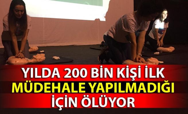YILDA 200 BİN KİŞİ İLK MÜDEHALE YAPILMADIĞI İÇİN ÖLÜYOR