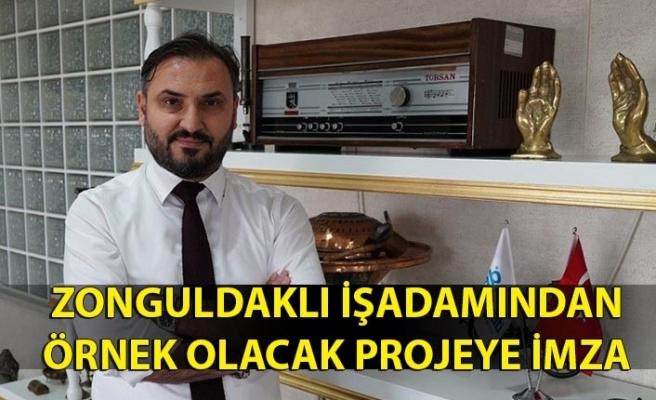 Zonguldaklı işadamından örnek olacak projeye imza