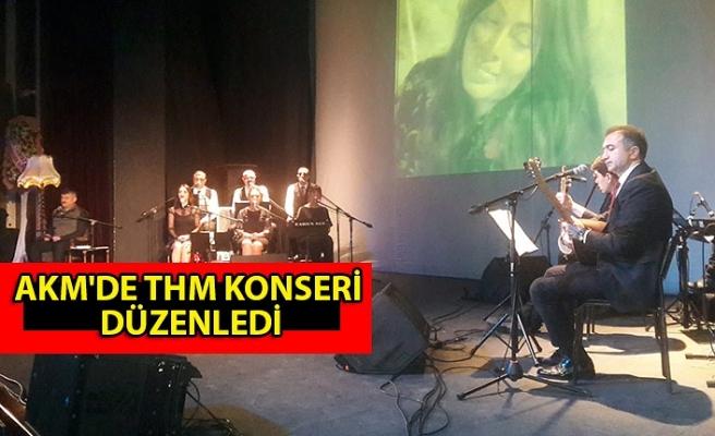 AKM'de THM konseri düzenledi