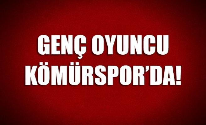 Genç oyuncu Kömürspor'da!