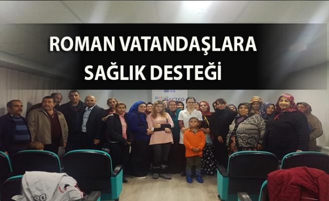 Roman vatandaşlara sağlık desteği