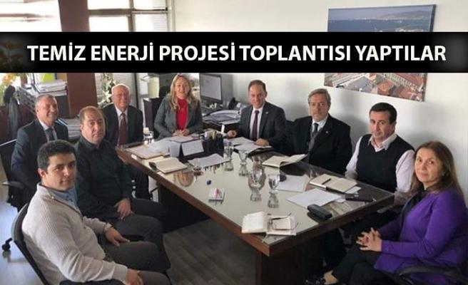 Temiz Enerji Projesi toplantısı yaptılar