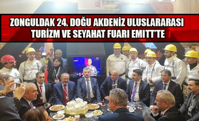 Zonguldak 24. Doğu Akdeniz Uluslararası Turizm ve Seyahat Fuarı EMITT'te