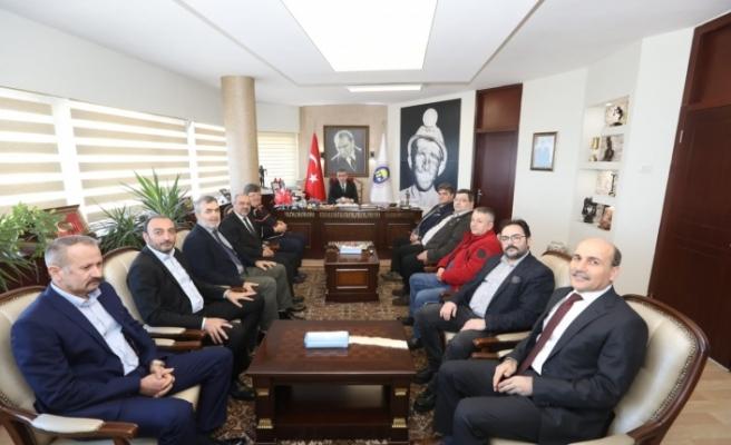 """ALMAN HEYETİ TTK""""DA"""