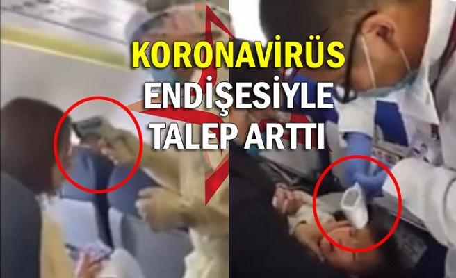 Koronavirüs endişesiyle talep arttı