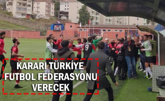 Kararı Türkiye Futbol Federasyonu verecek
