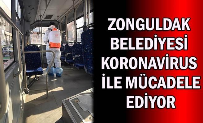 Zonguldak Belediyesi koronavirus ile mücadele ediyor