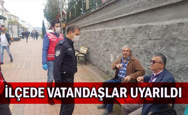 İlçede vatandaşlar uyarıldı