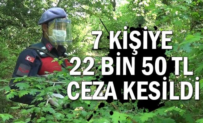 22 bin 50 TL ceza kesildi