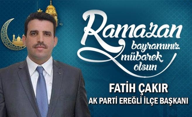 Ak Parti Ereğli İlçe Başkanı Fatih Çakır Bayram Kutlaması
