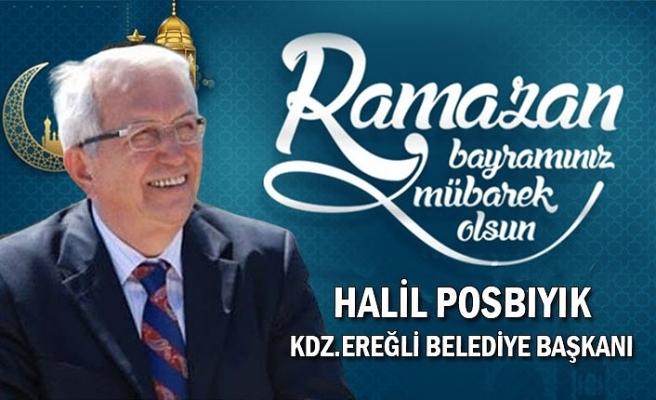 Ereğli Belediye Başkanı Halil Posbıyık bayram kutlaması