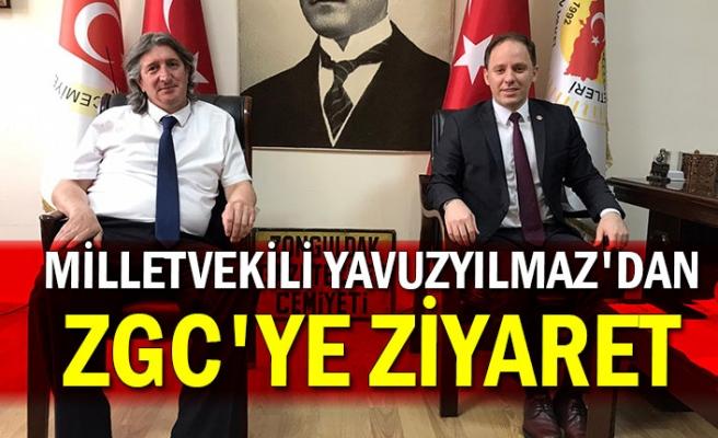 Milletvekili Yavuzyılmaz'dan ZGC'ye ziyaret
