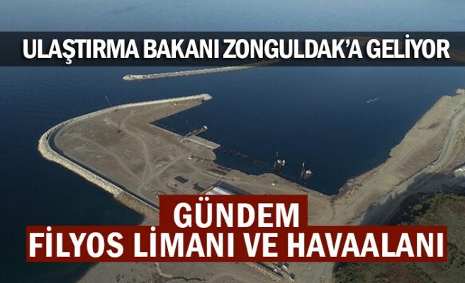 Ulaştırma ve Altyapı Bakanı Adil Karaismailoğlu Zonguldak'a geliyor