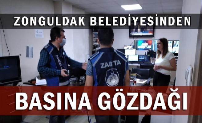 Zonguldak Belediyesi'nden Basın kuruluşlarına gözdağı