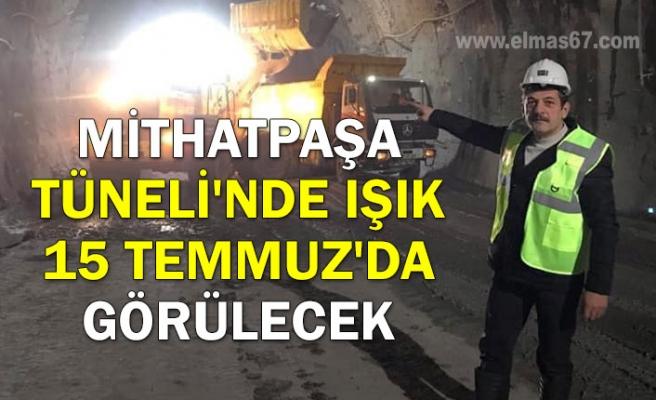 Mithatpaşa Tüneli'nde ışık 15 Temmuz'da görülecek
