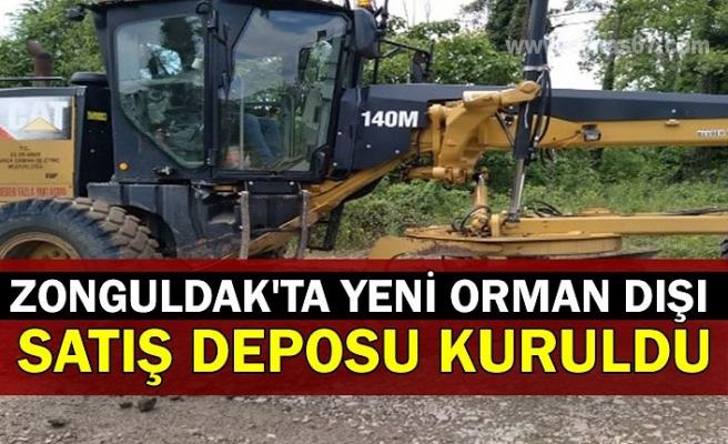 Zonguldak'ta yeni orman dışı satış deposu kuruldu