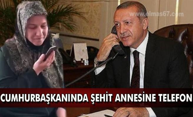 Cumhurbaşkanın'dan şehit annesine telefon