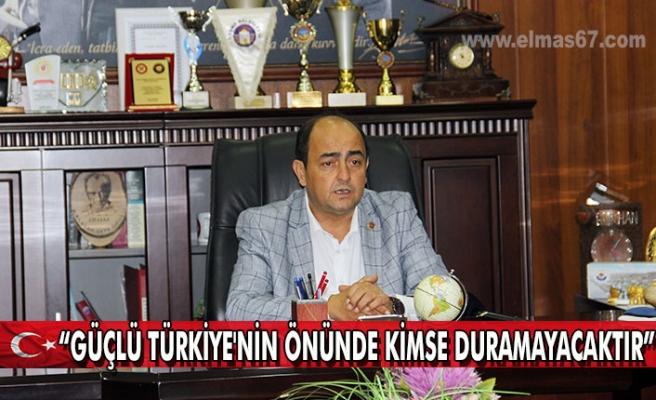 """Demirtaş """"Güçlü Türkiye'nin önünde kimse duramayacaktır"""""""