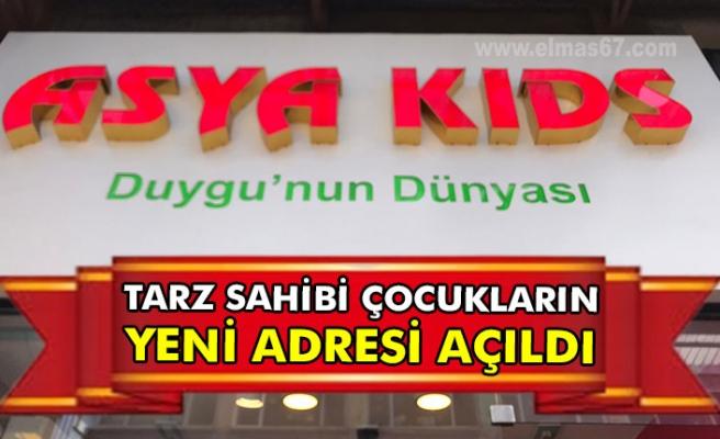 Tarz sahibi çocukların yeni adresi açıldı.