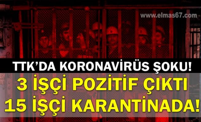 TTK'da koronavirüs şoku! 3 işçi pozitif çıktı, 15 işçi karantinada!