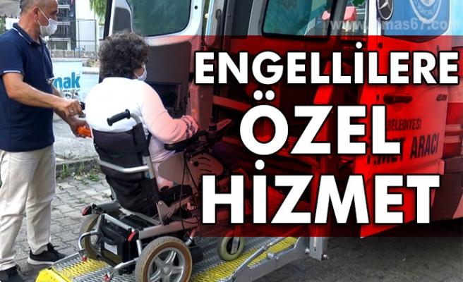 Ereğli Belediyesi'nden engellilere özel hizmet