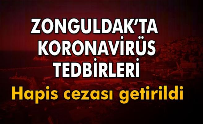 Zonguldak'ta koronavirüs ile mücadelede yeni kararlar