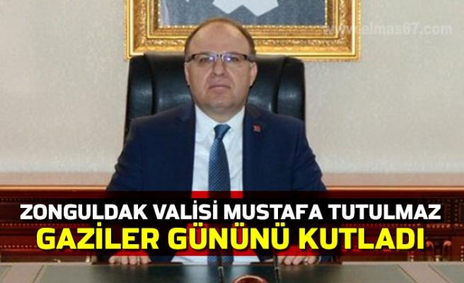 Zonguldak Valisi Mustafa Tutulmaz Gaziler Gününü Kutladı