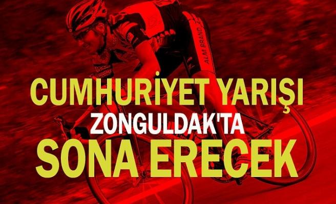 Cumhuriyet yarışı Zonguldak'ta sona erecek