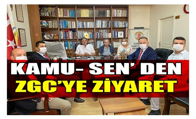 KAMU- SEN' DEN ZGC'YE ZİYARET