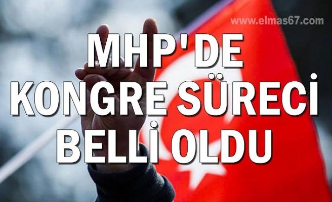 MHP'de kongre süreci belli oldu