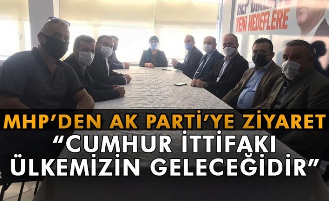 MHP' den AK parti' ye ziyaret