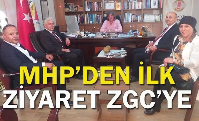 MHP'den ilk ziyaret ZGC'ye