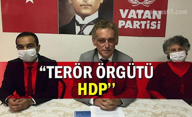 TERÖR ÖRGÜTÜ HDP