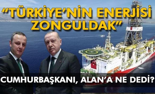"""""""Türkiye'nin enerjisi Zonguldak"""" Cumhurbaşkanı, Alan'a ne dedi?"""
