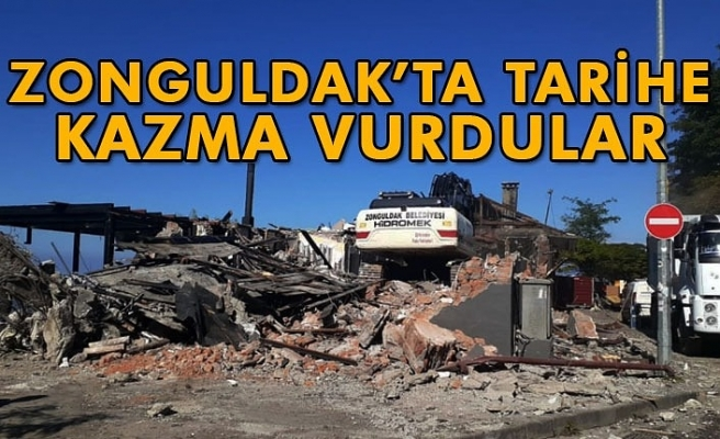 ZONGULDAK'TA TARİHE KAZMA VURDULAR