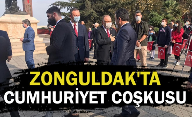 Zonguldak'ta Cumhuriyet coşkusu