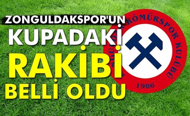 Zonguldakspor'un rakibi belli oldu