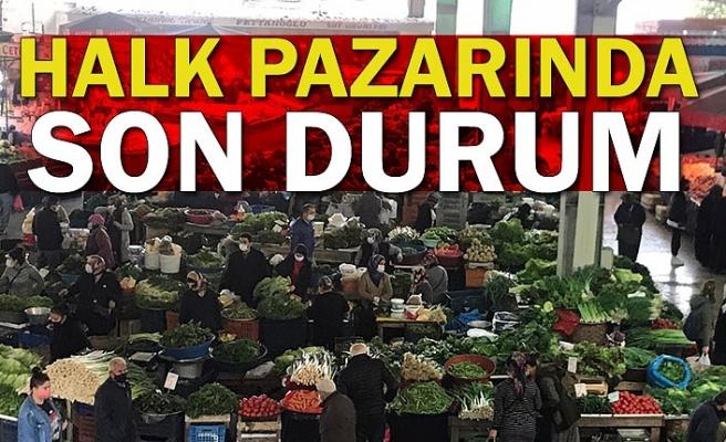 Halk pazarında son durum