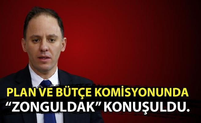 """Plan ve Bütçe Komisyonunda """"Zonguldak"""" konuşuldu."""